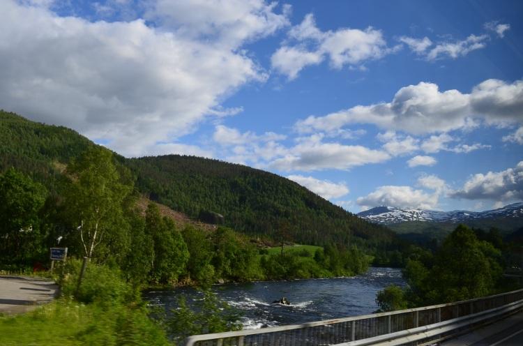 A caminho de Bergen