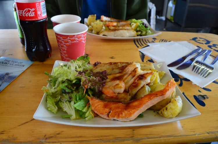 Almoço no Fisketorget