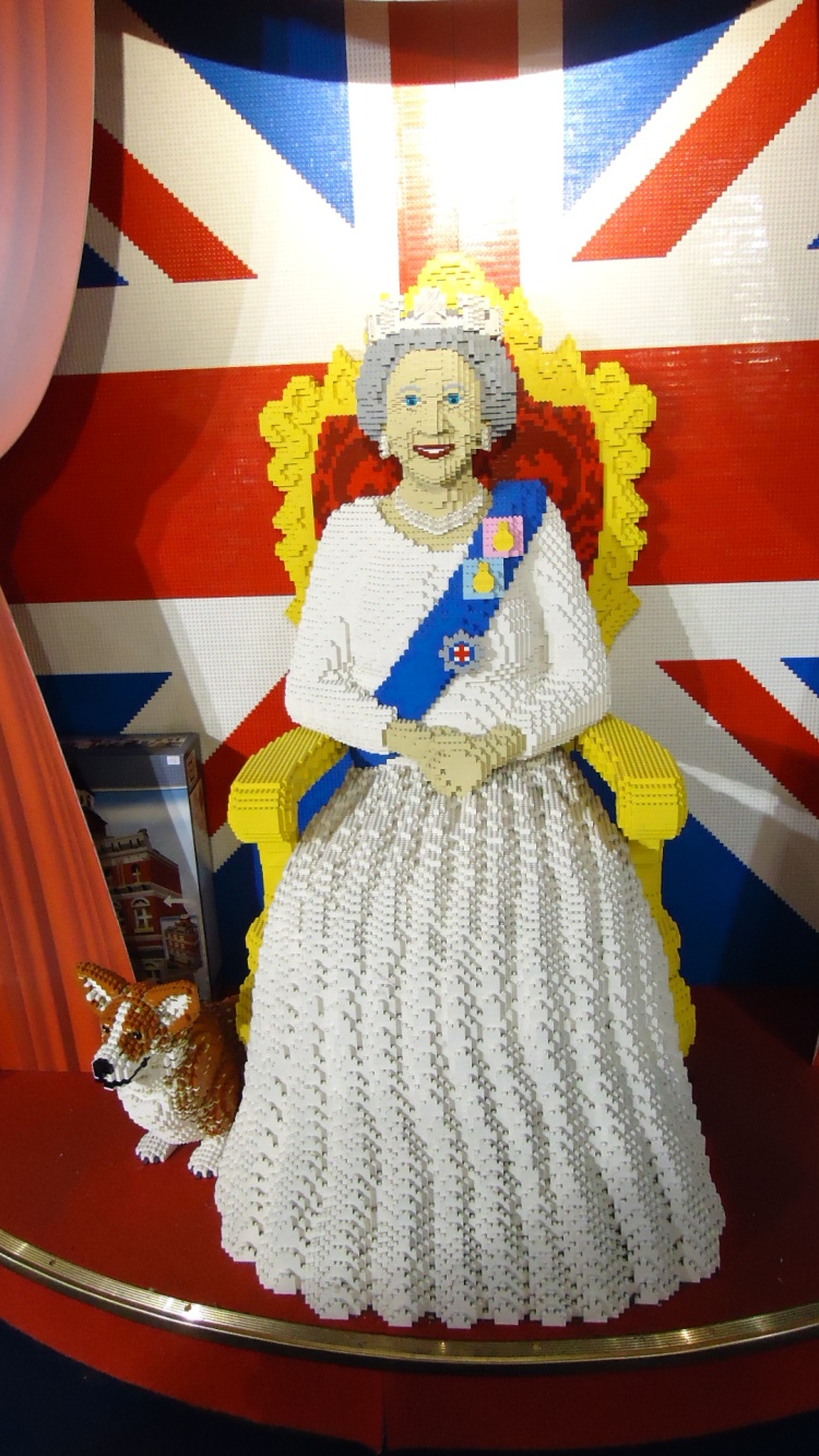 Lego na loja Hamleys Toy Shop