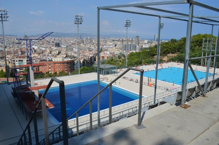 Piscinas Públicas de Barcelona