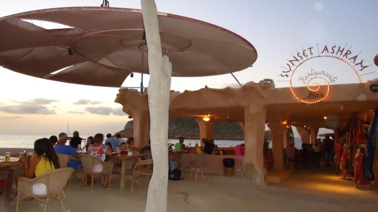 Restaurante em Cala Comte